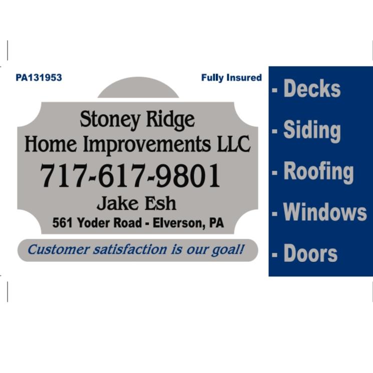 Stoney Ridge Home Improvements LLC