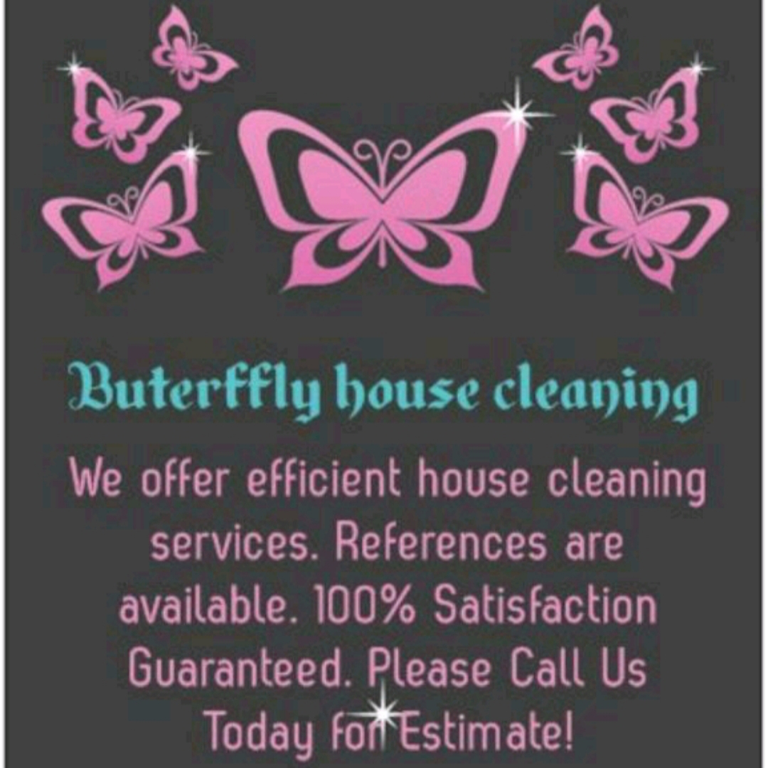 Butterfly Housecleaning