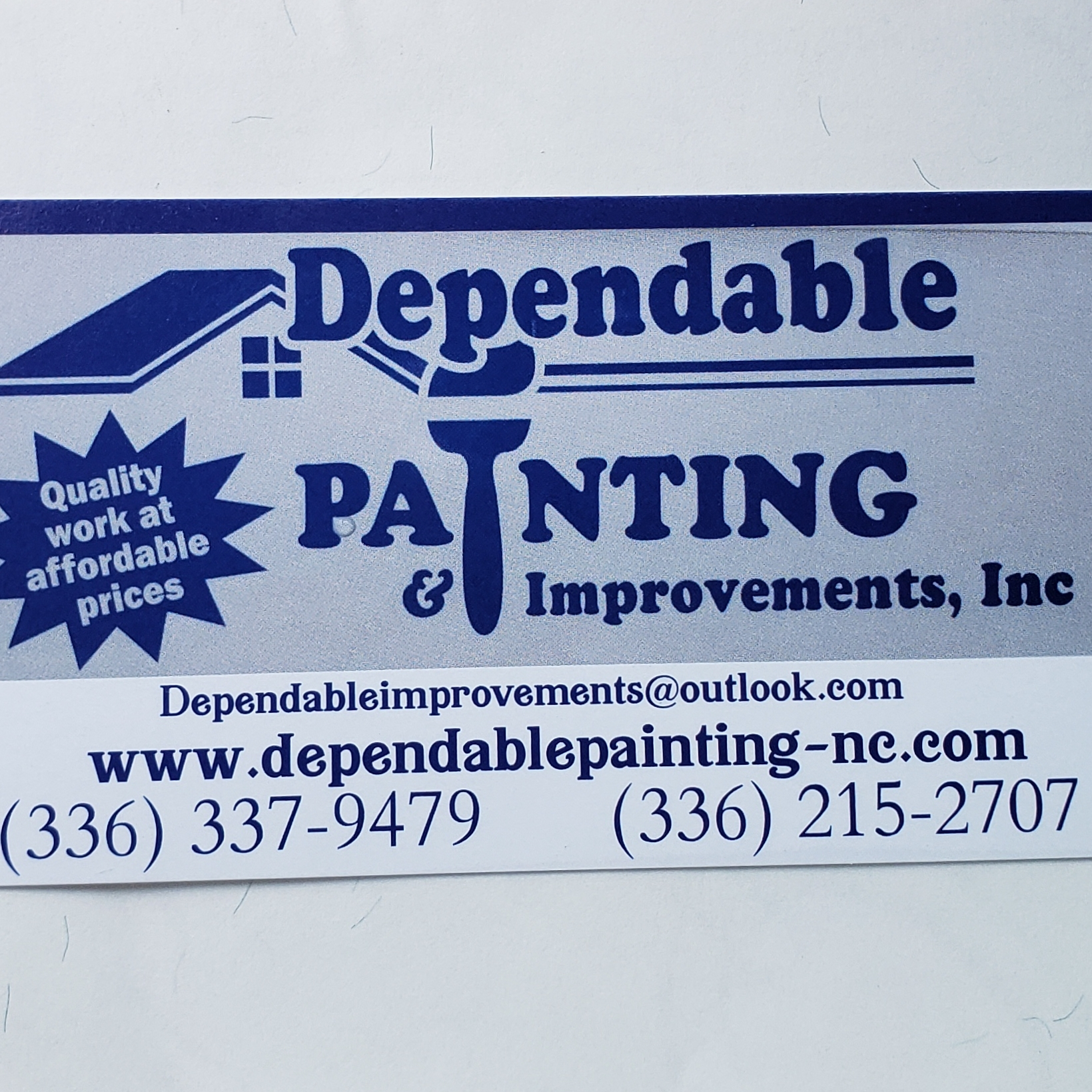 Dependable Painting and Improvements INC.