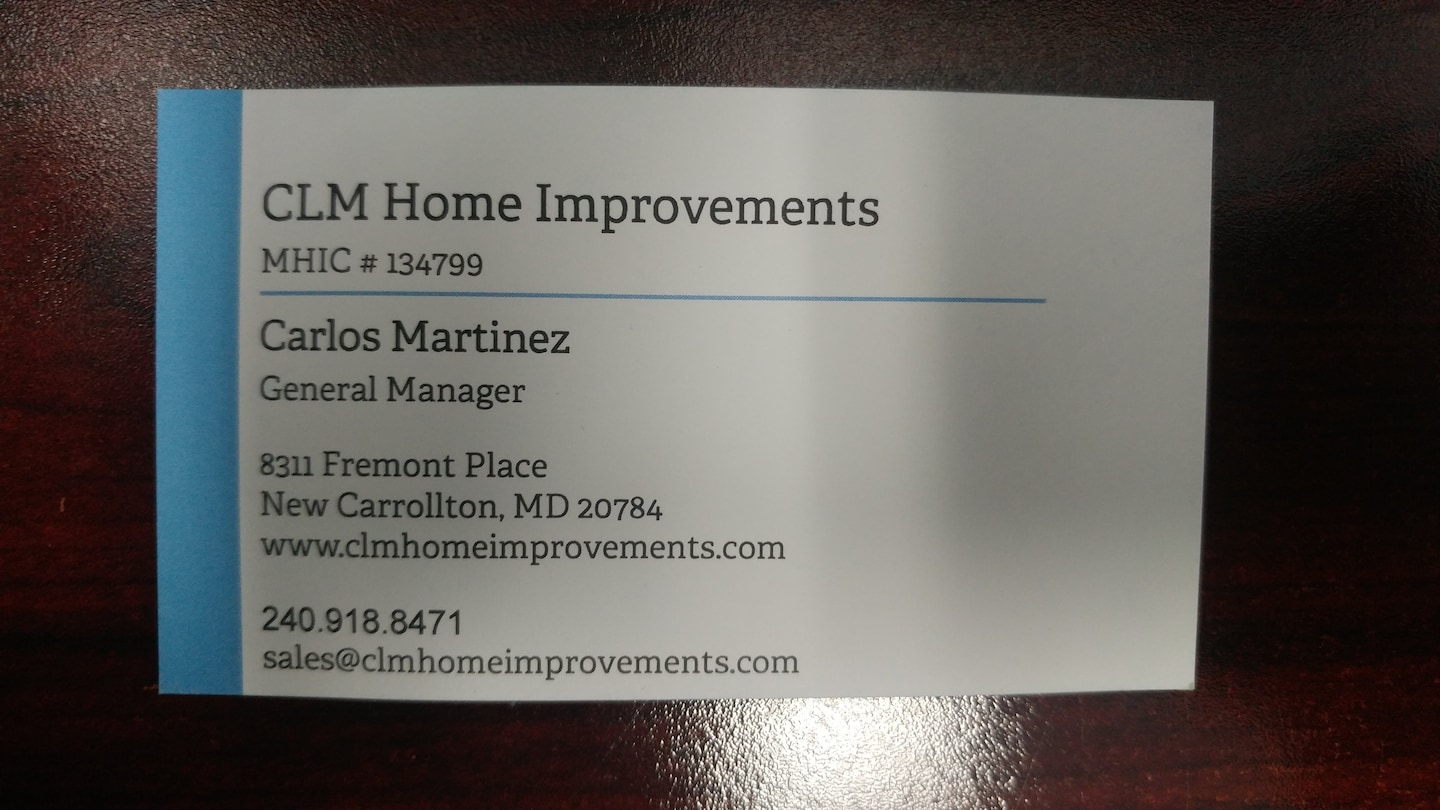 CLM Home Improvements