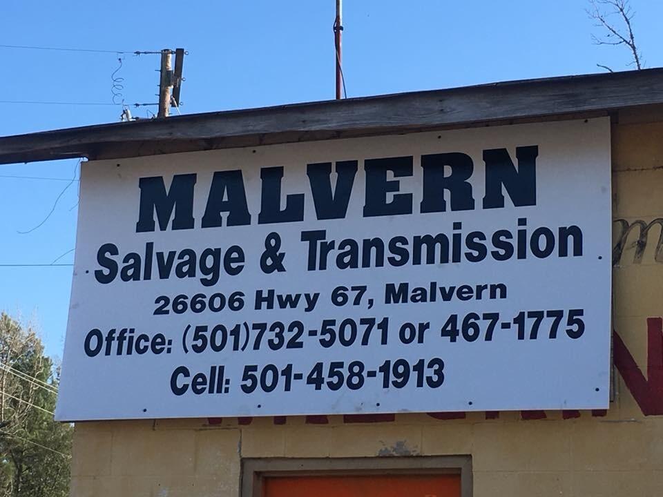 MalvernTransmission&Salvage