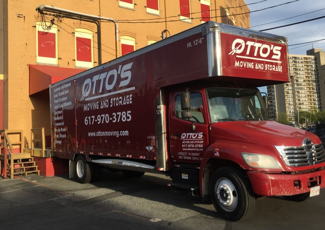 Ottos moving and storage logo
