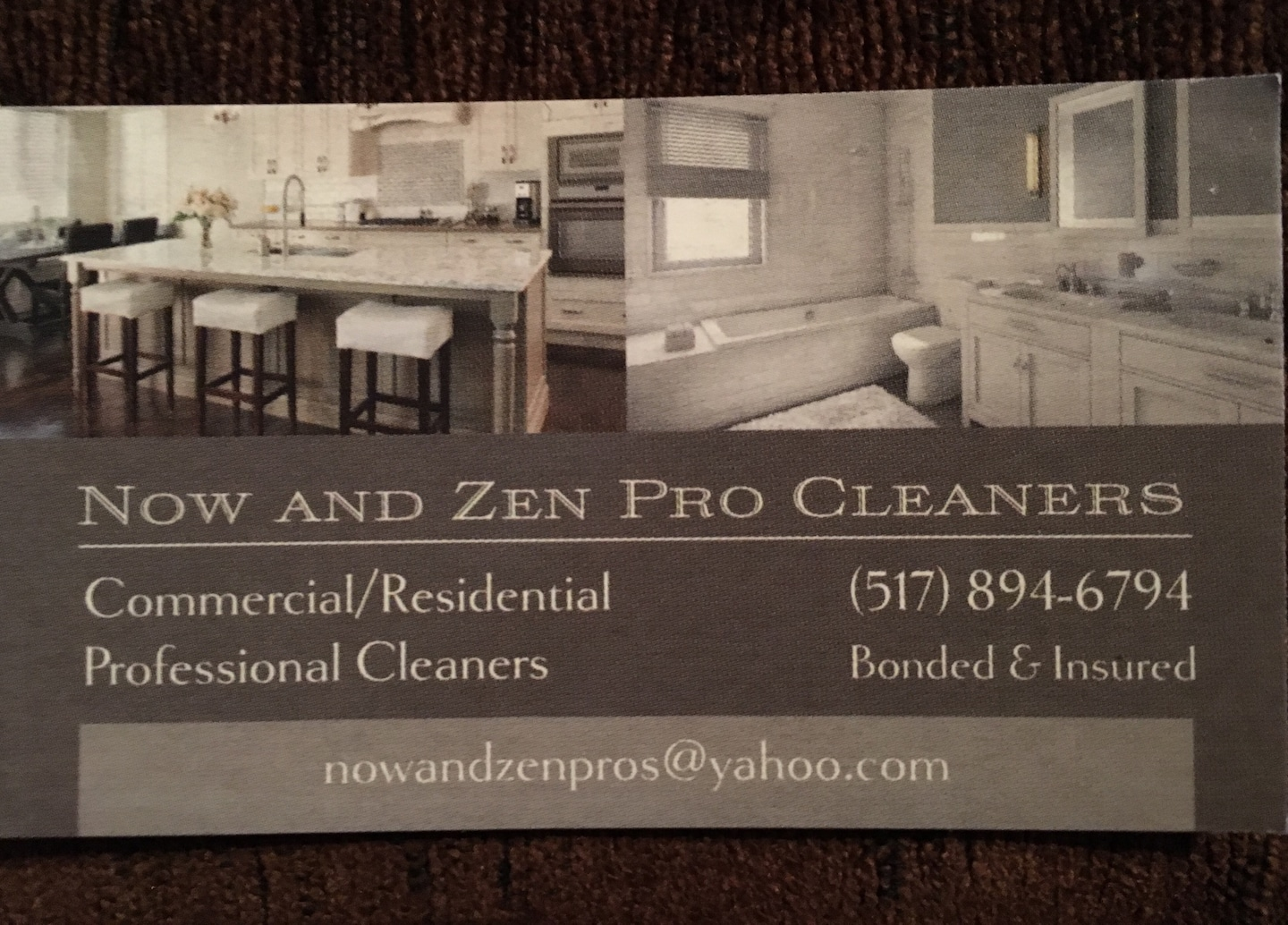 Now and Zen Pro Cleaners Llc