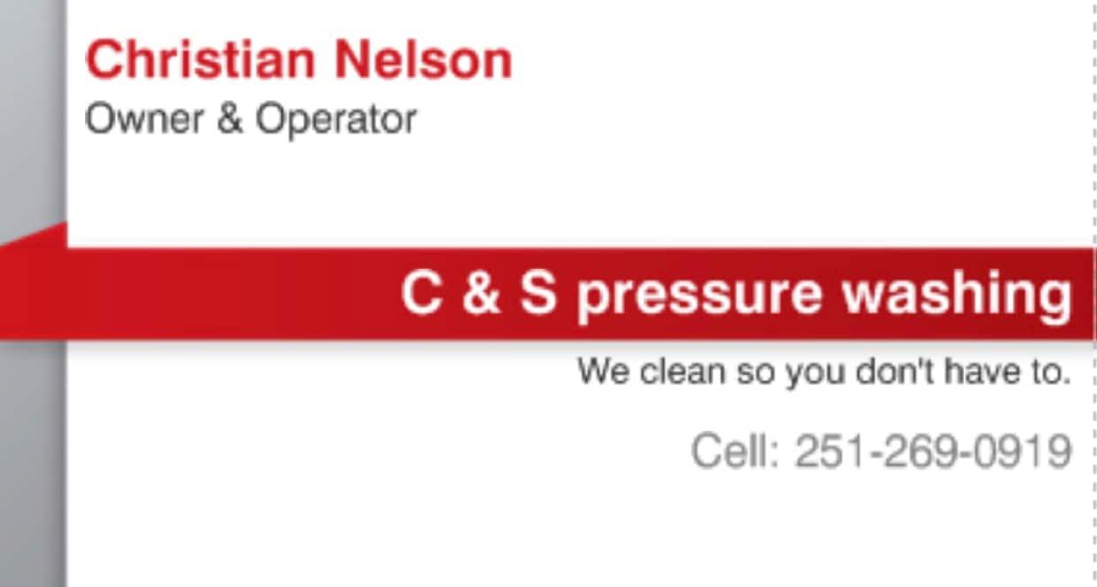 C & S Pressure Washing