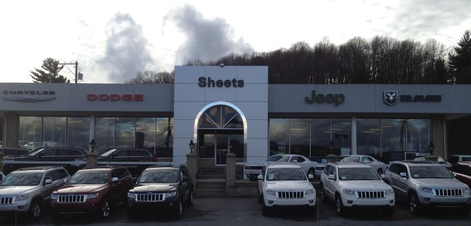 Sheets Chrysler Jeep Dodge