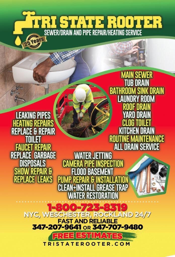 Tri-State Rooter Sewer, Drain & Pipe Repair