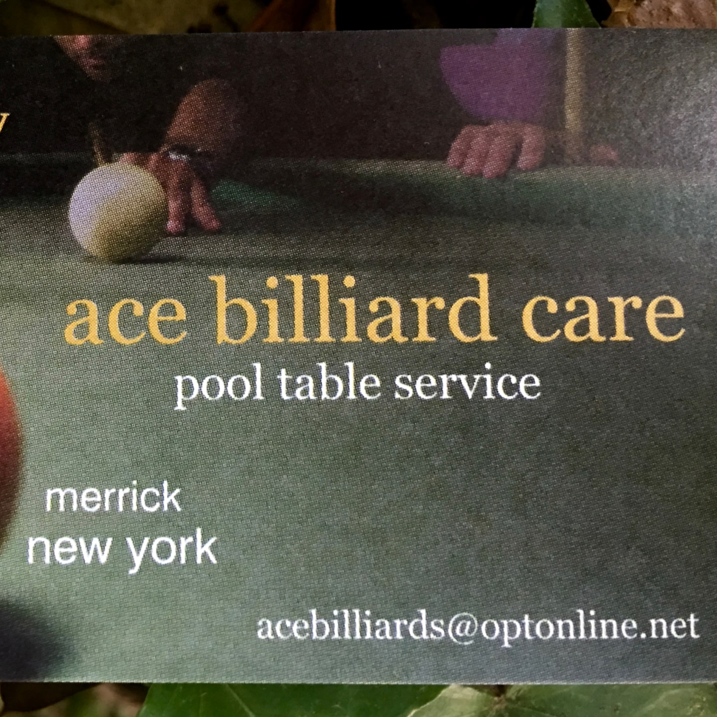 Ace Billiard Care