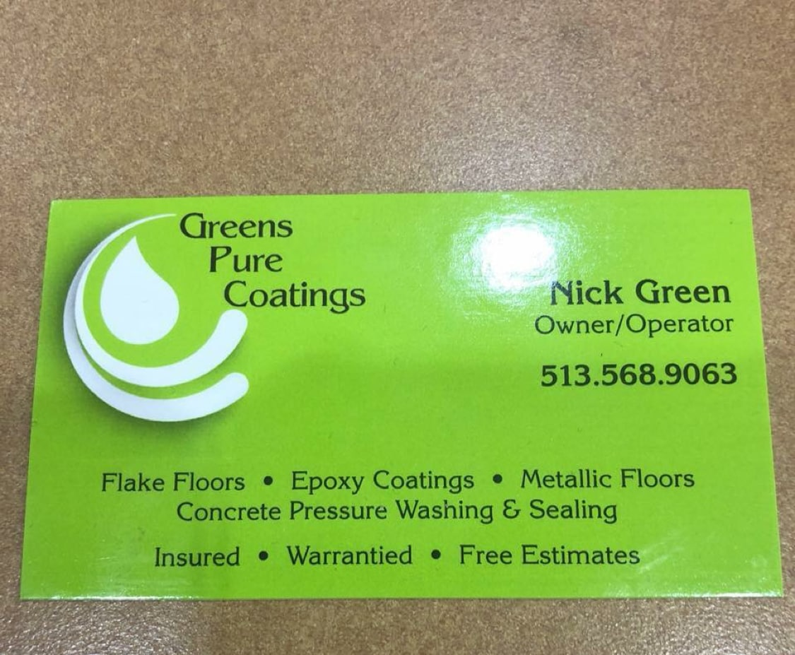 Greens Pure Coatings llc
