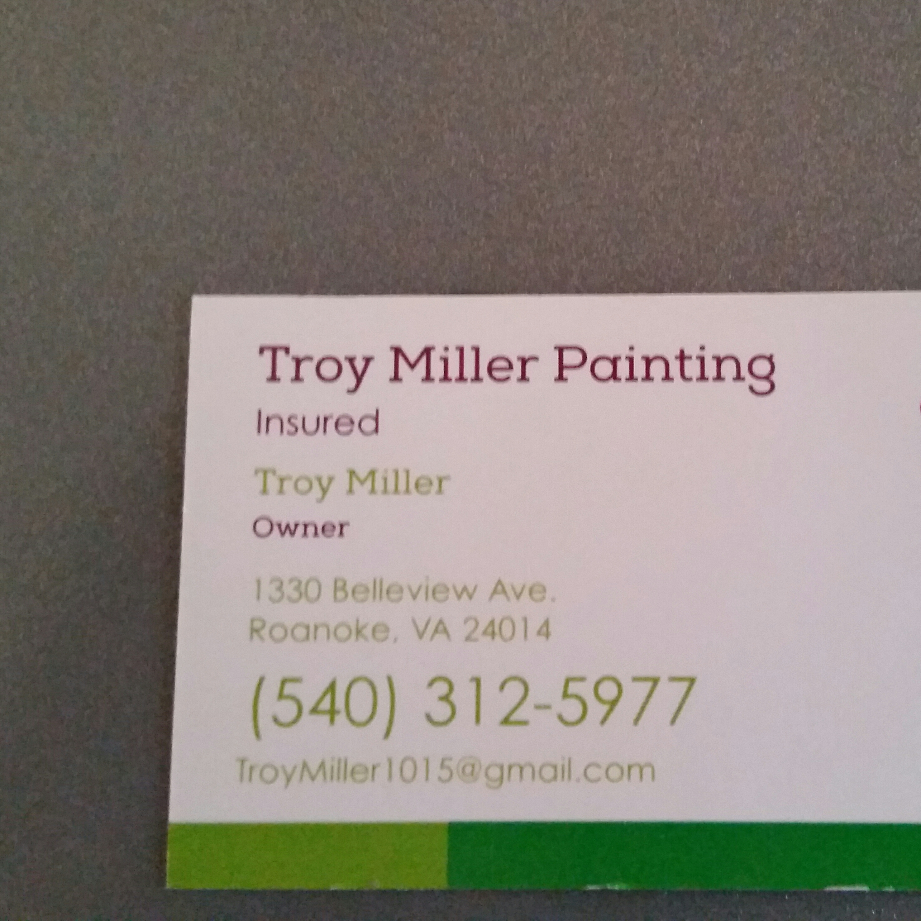 Troy Miller Painting