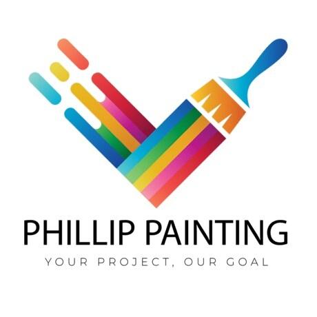 Phillip painting