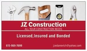 JZ CONSTRUCTION