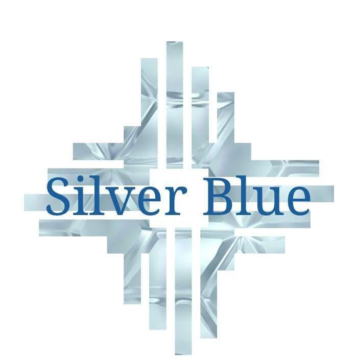 Silver Blue Painting