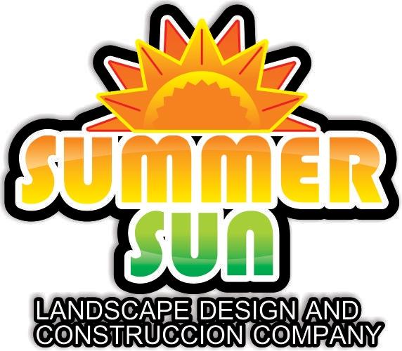 Summer Sun Landscape