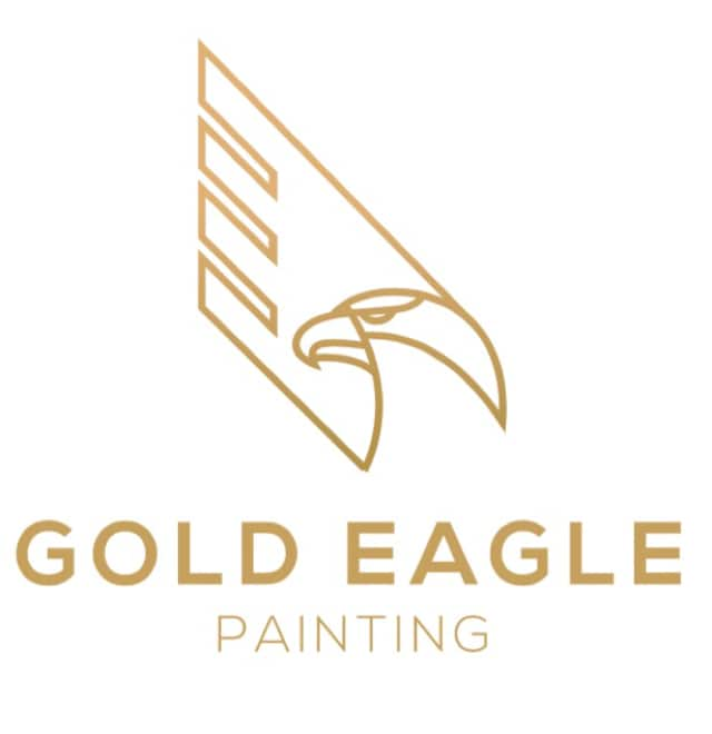 Gold Eagle Painting