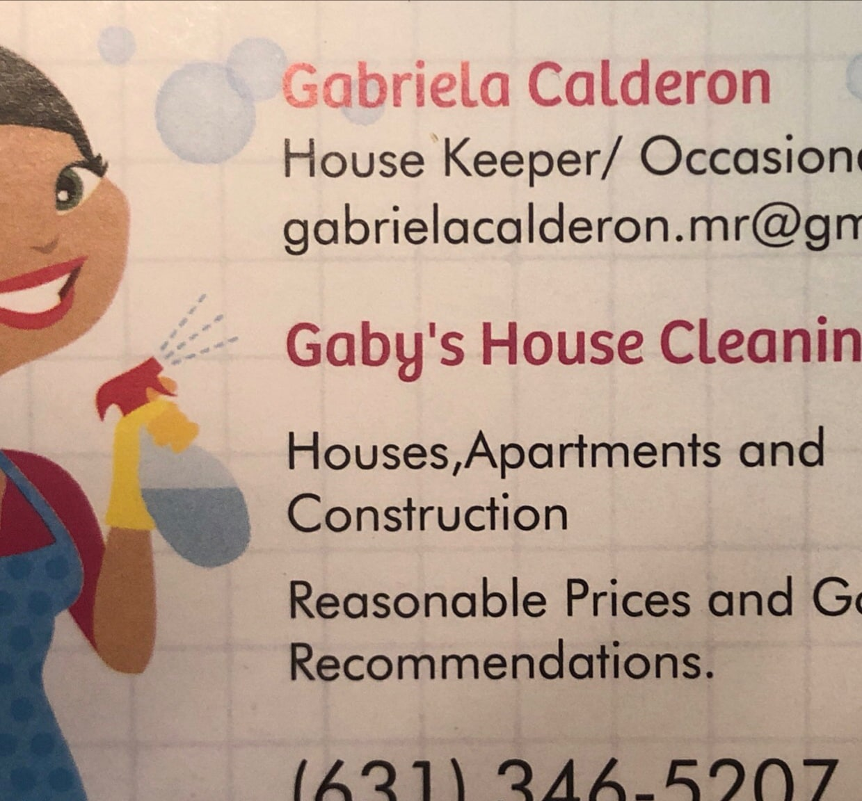 Gaby's House Cleaning