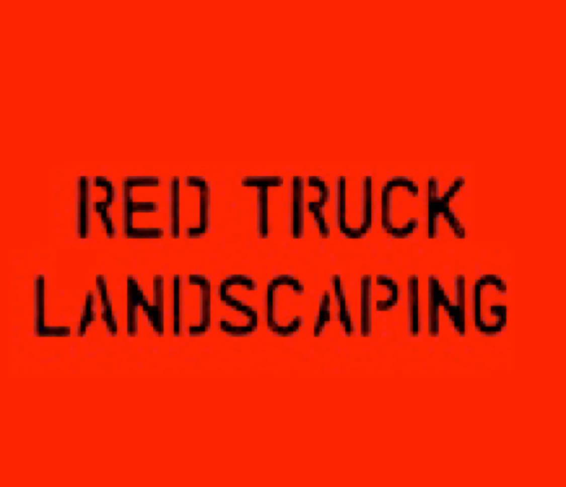 Red Truck Landscaping