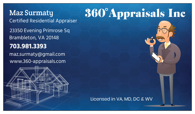 360 Appraisals Inc