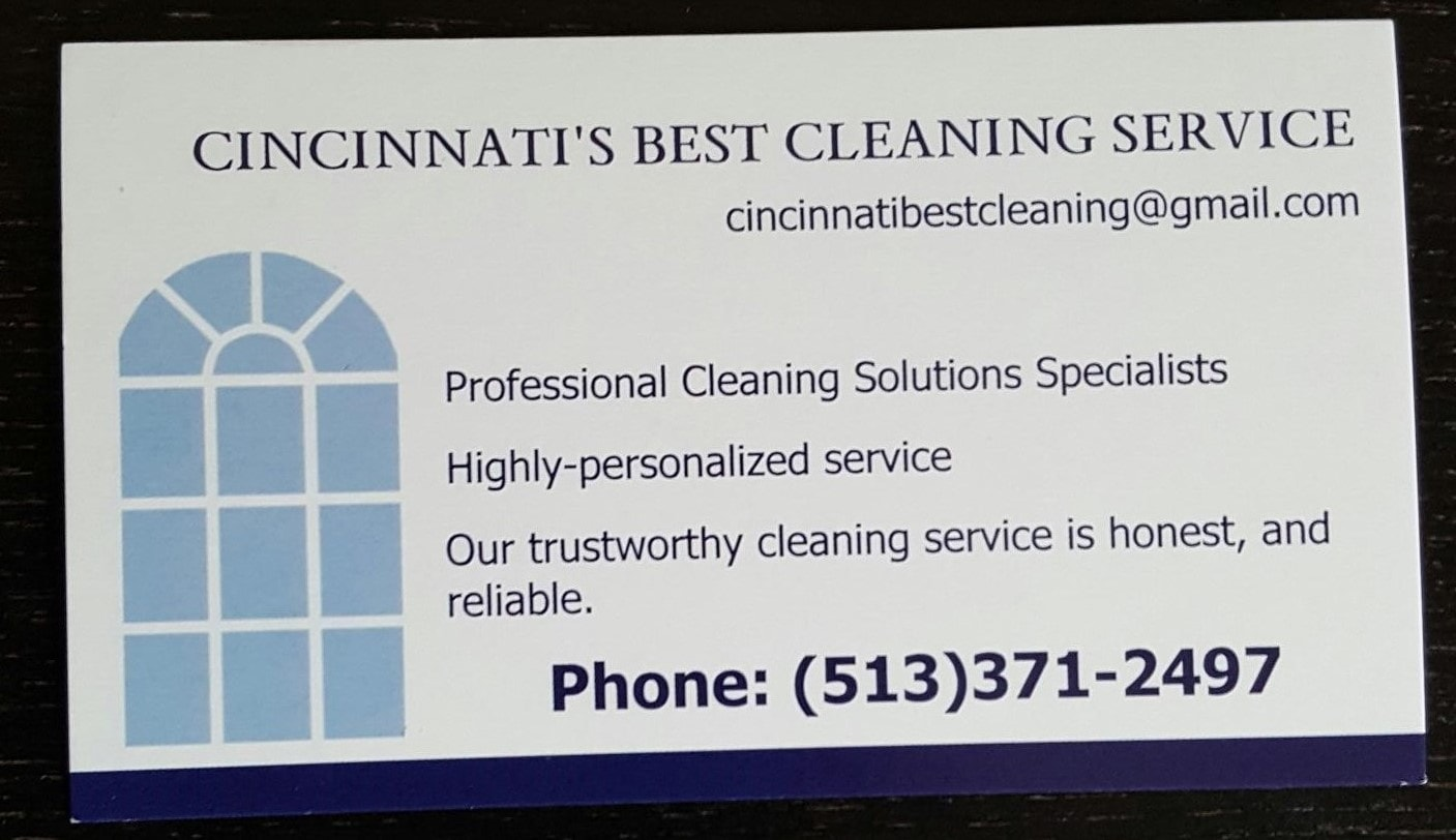 Cincinnati's Best Cleaning Service