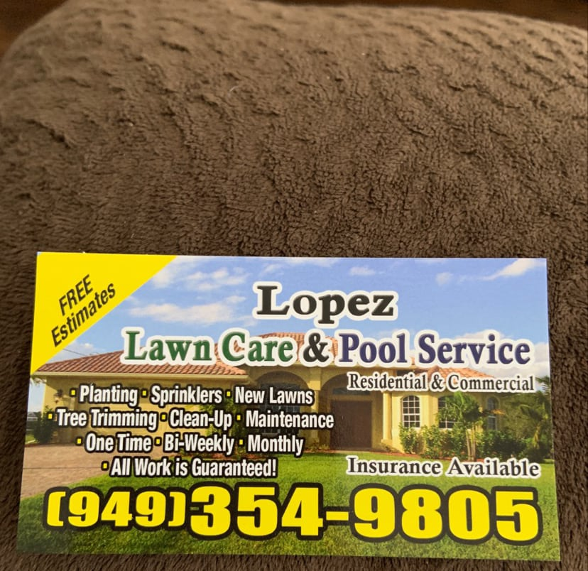 Lopez Lawn Care & Pool Service