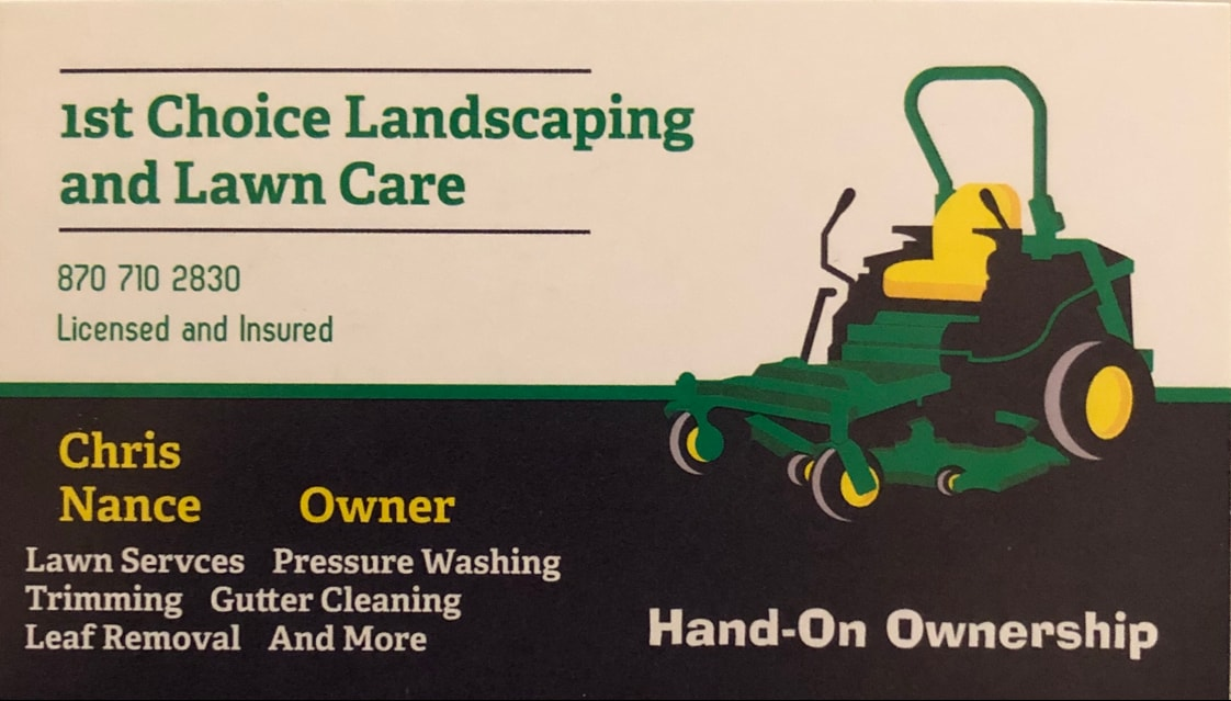 1st choice landscaping and lawn care