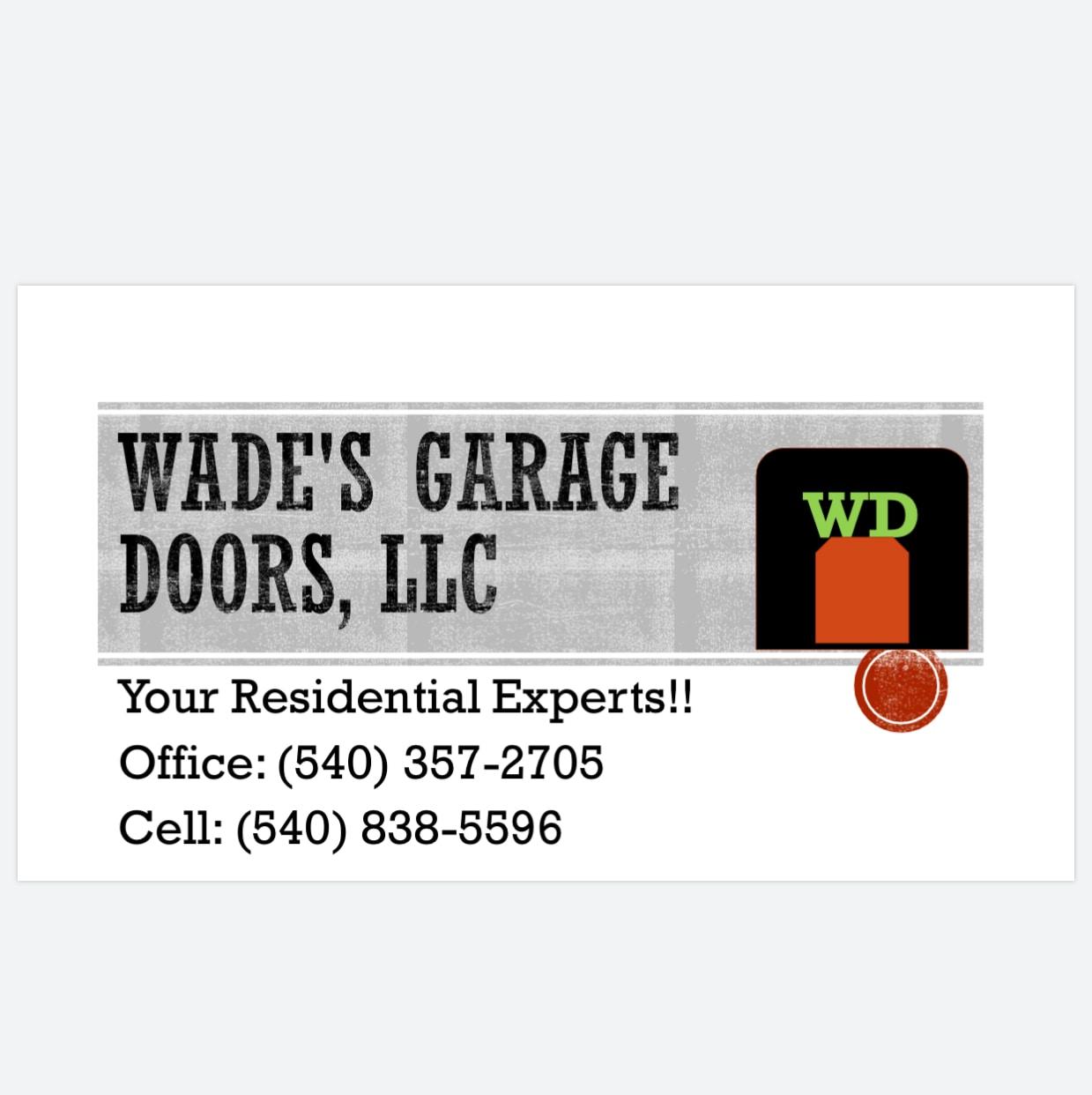 Wades Garage Doors LLC