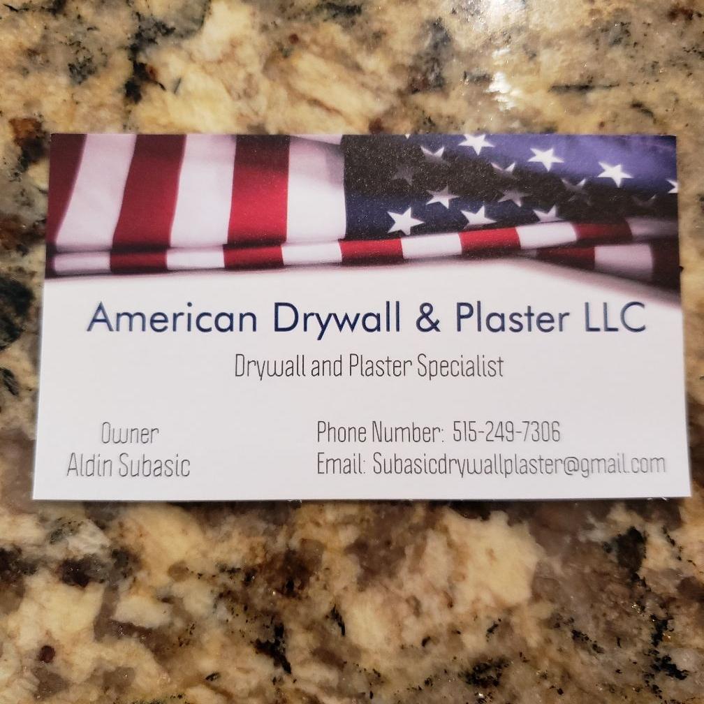 American Drywall & Plaster