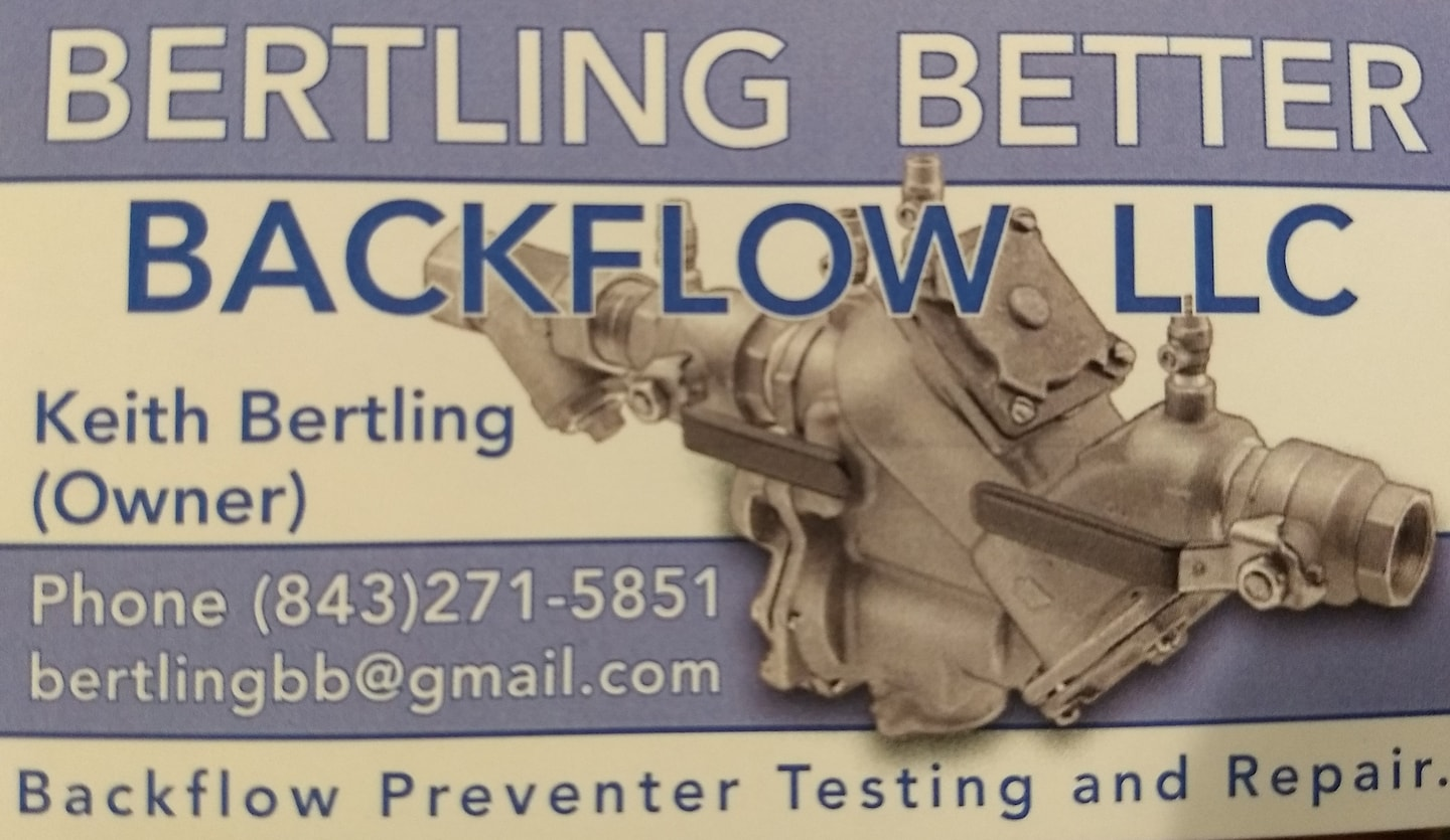 Bertling Better BackFlow LLC