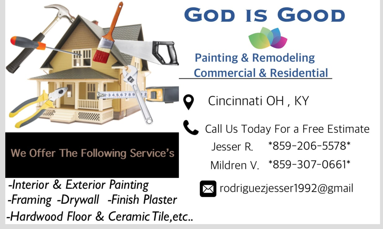 God Is Good Painting and Remodeling LLC