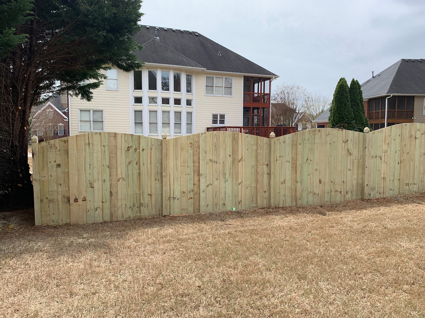 Custom Fence and Deck