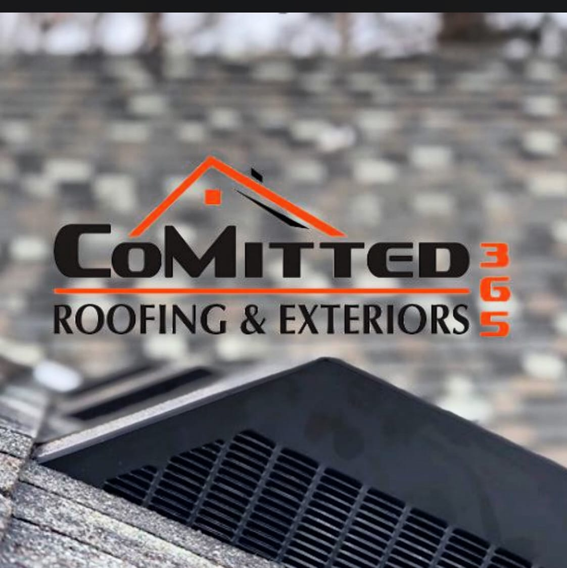 CoMitted 365 Roofing & Exteriors logo