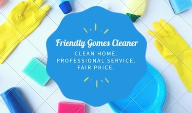 Friendly gomes Cleaner