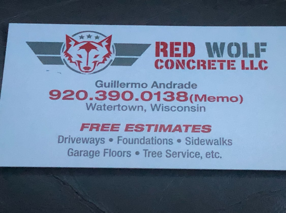 Red Wolf Concrete LLC