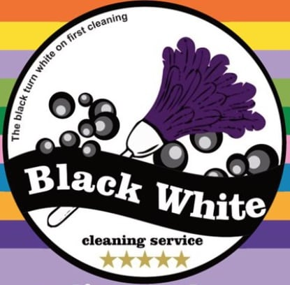 Black & White Cleaning Service