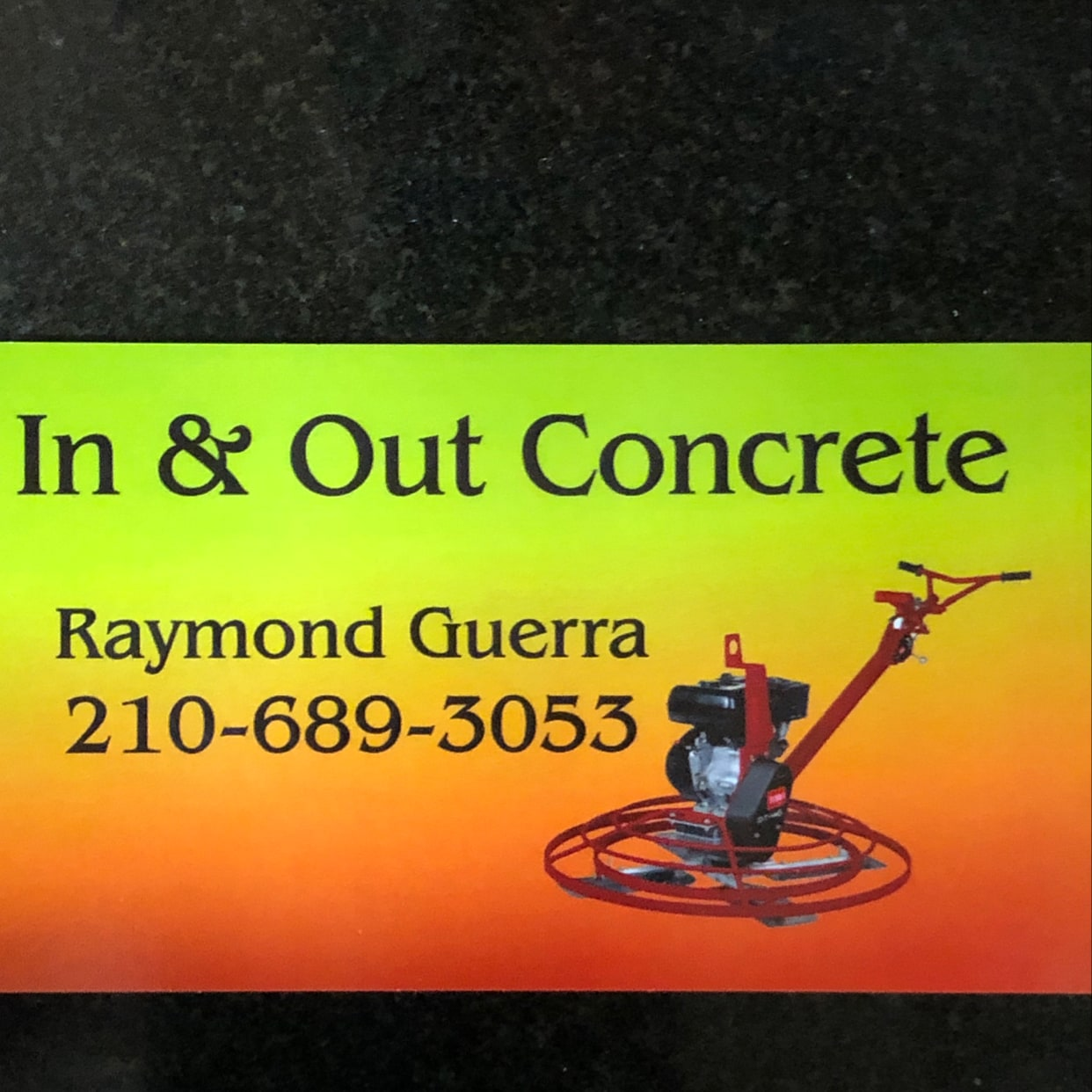 In and out concrete