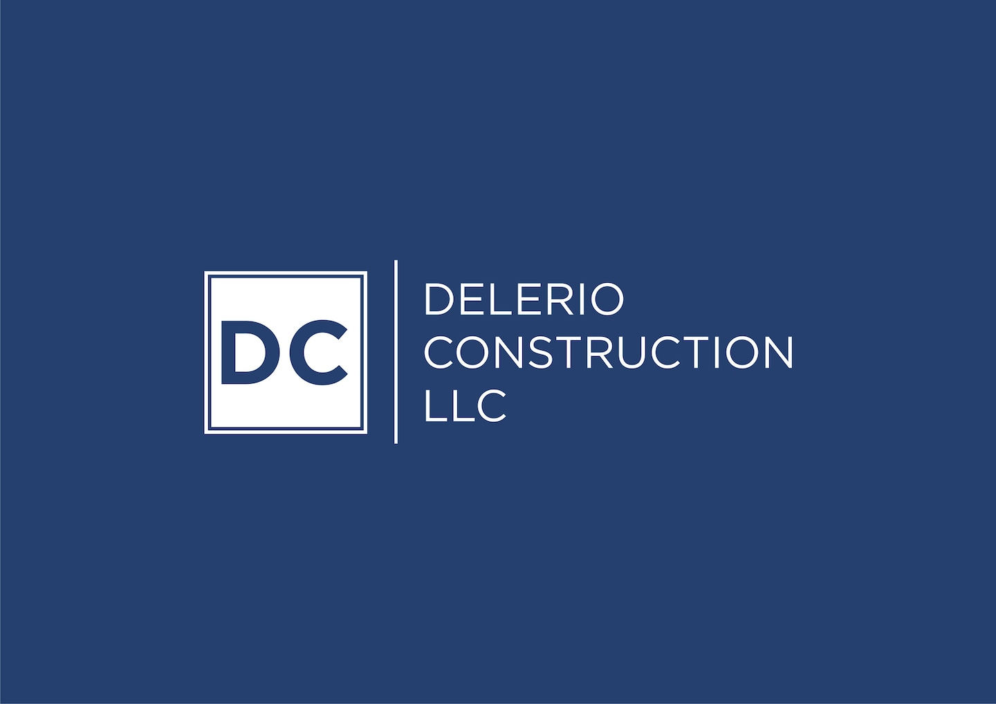 Delerio Construction logo