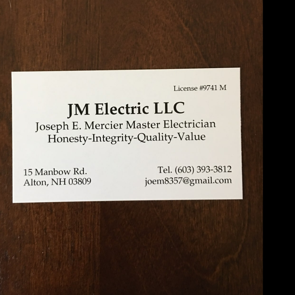 JM Electric LLC