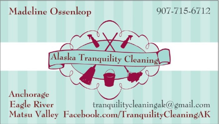 Alaska Tranquility Cleaning