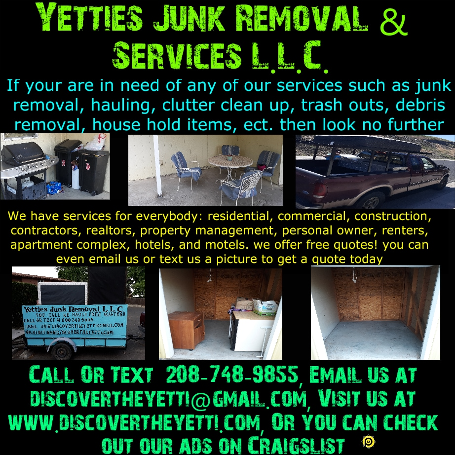 Yetties Junk Removal & Services L.L.C.
