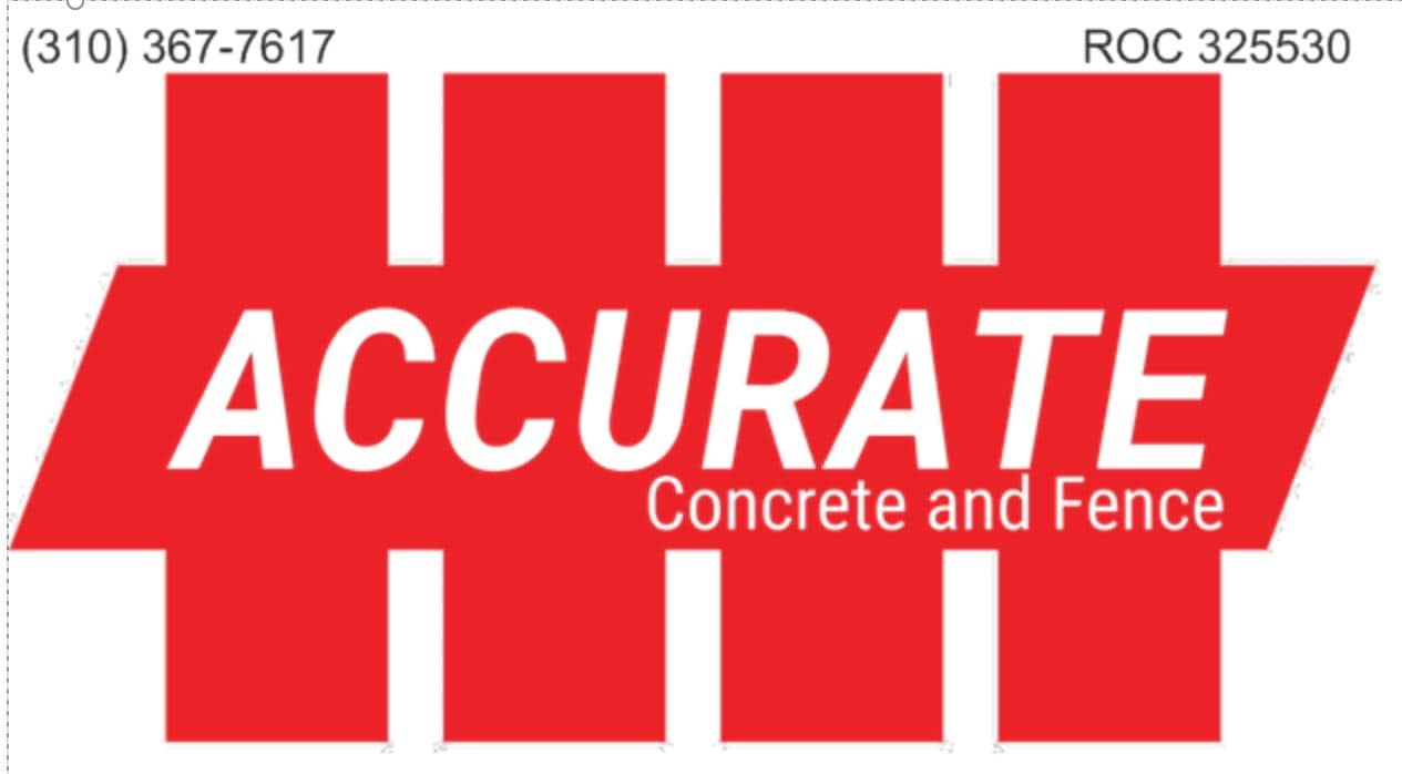 Accurate Concrete and Fence LLC