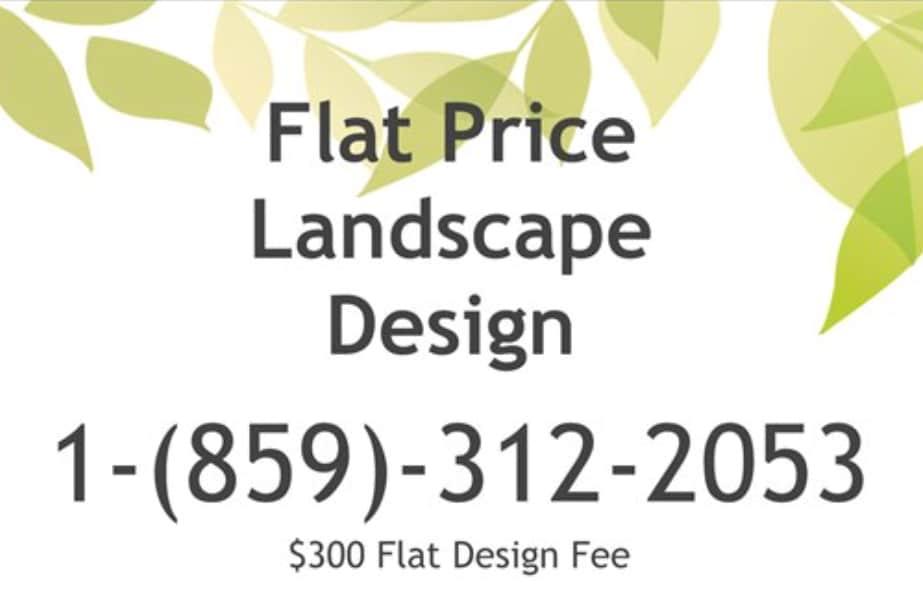 Flat Price Landscape Design