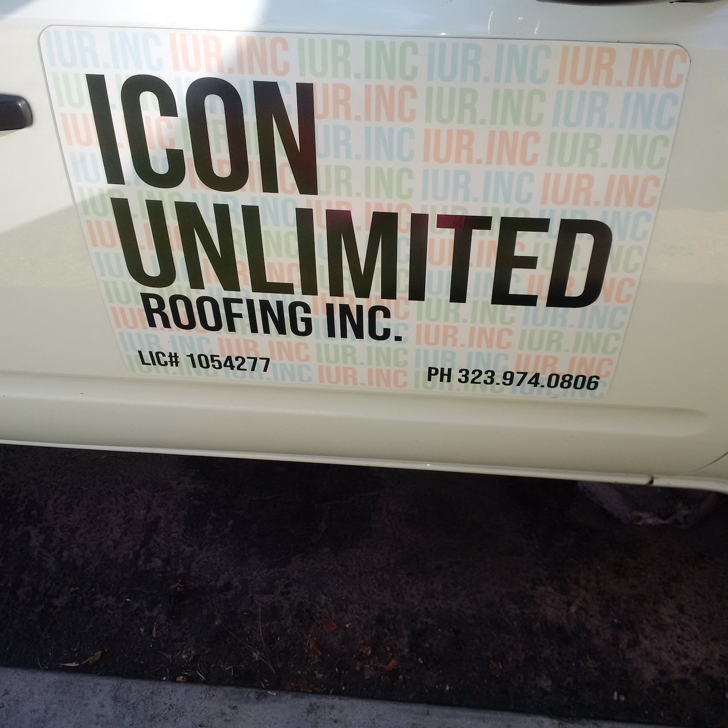 ICON UNLIMITED ROOFING INC