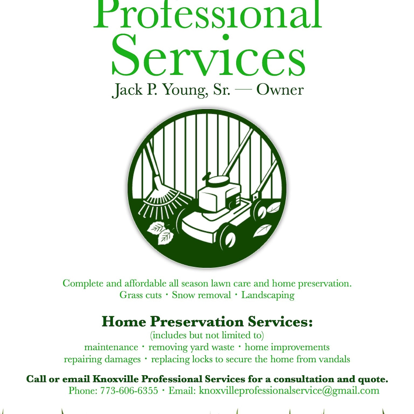 Knoxville Professional Services