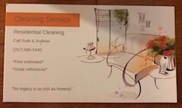 Andrews cleaning service