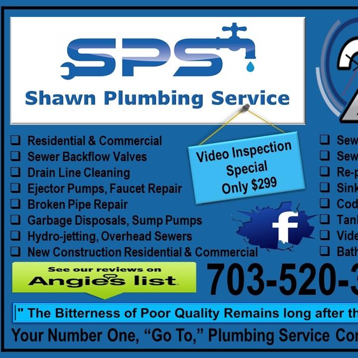 Shawn plumbing service