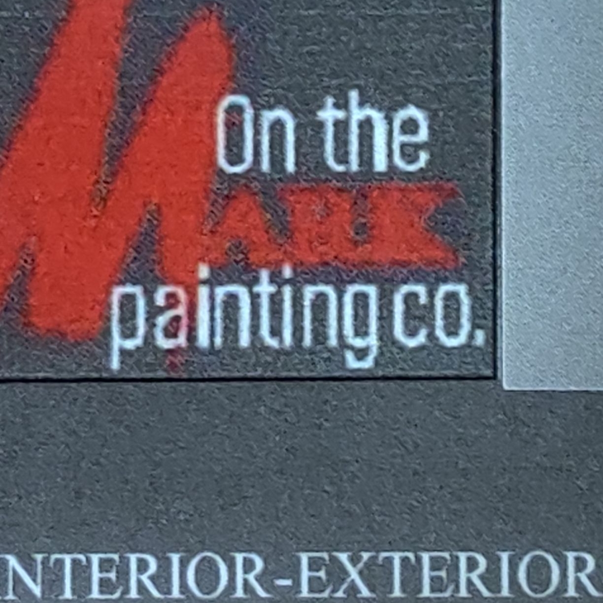 On The Mark Painting Co.