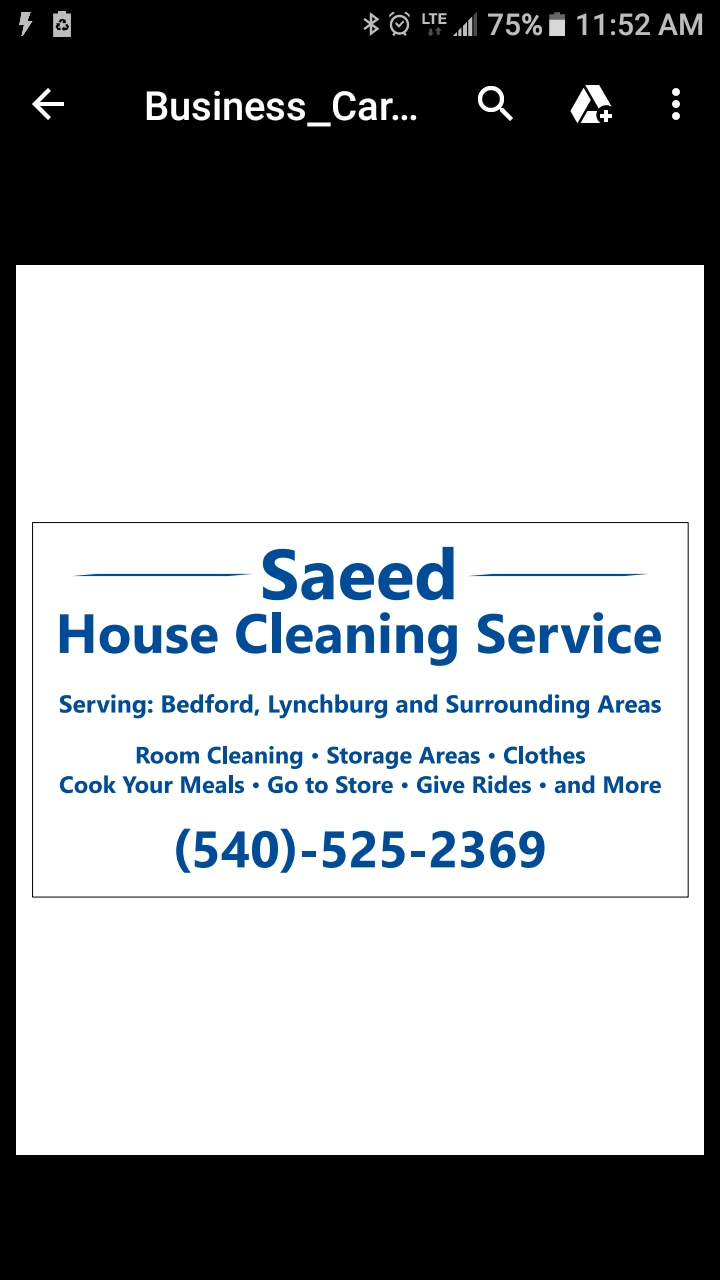Saeed Housecleaning Services