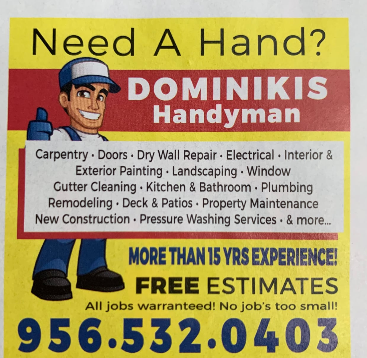 Dominiky Remodeling & Handyman Services
