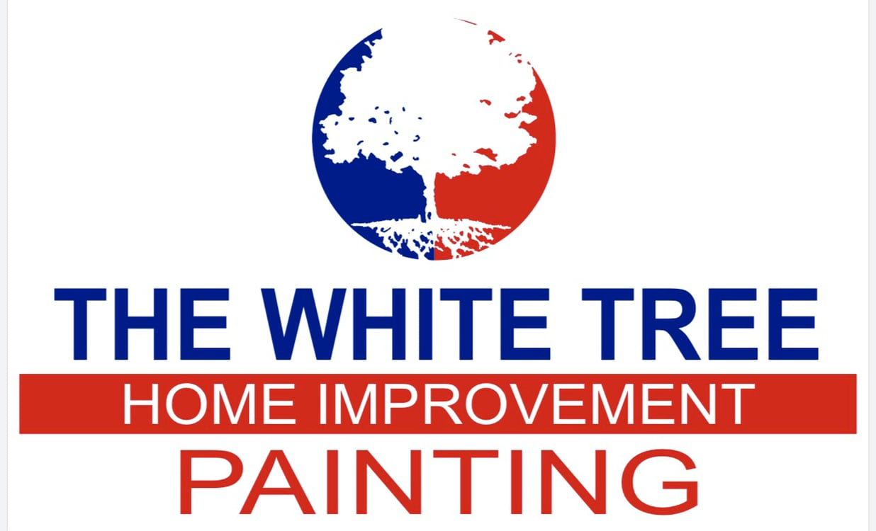The white tree improvement and painting