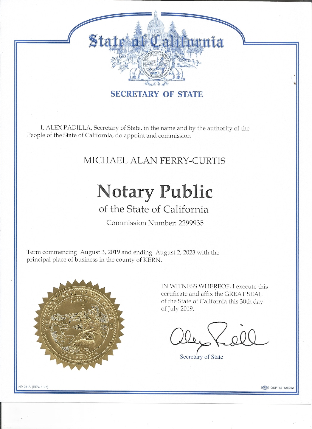 Mike's Notary Public