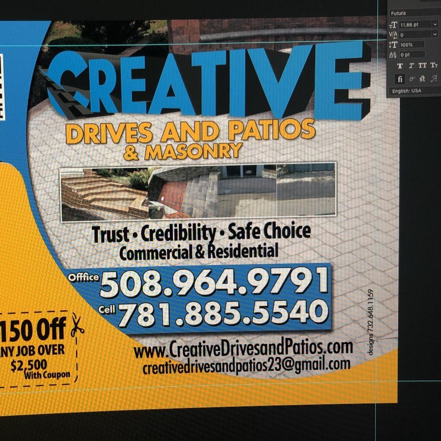 Creative Drives & Patios Masonry